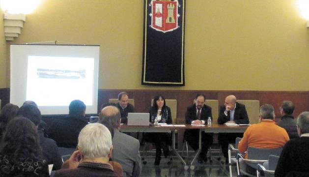 Manuel Romero, Idoia Madariaga, Ángel Guerra y Germán Saiz.