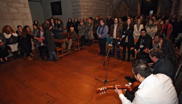 Cantos flamencos de un grupo de Pamplona.