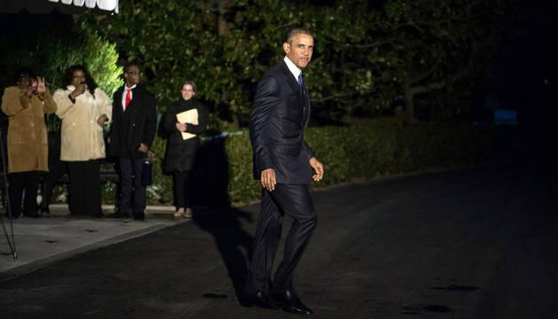 Obama visitará por primera vez como presidente una mezquita de EE UU