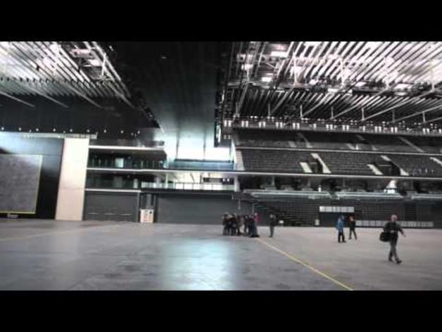Visita al pabellón Navarra Arena