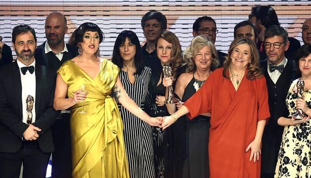 Entrega de los VIII Premios Gaudí de cine