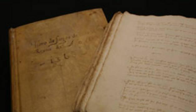 El Archivo de Navarra dedica su exposición al 'Libro de fuegos' de 1366