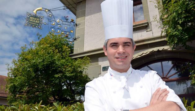 Benoit Violier, considerado 'mejor chef del mundo' por la Guía Michelín.