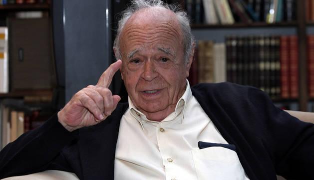 José Javier Uranga, director de Diario de Navarra entre 1962 y 1990.