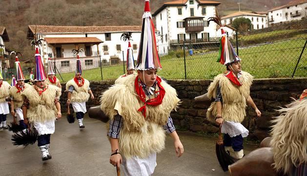 Carnavales en Ituren y Zubieta