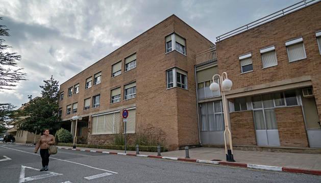 La parte más antigua del hospital de Estella empezará a remodelarse este año.