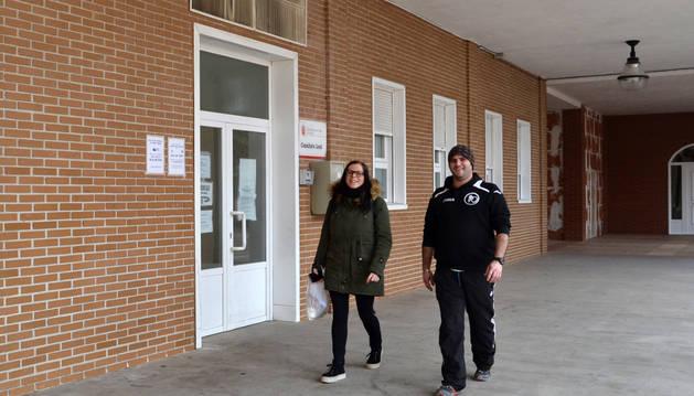 El consultorio de Andosilla está en los bajos del ayuntamiento.