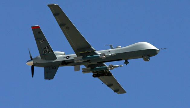 Un dron no tripulado.