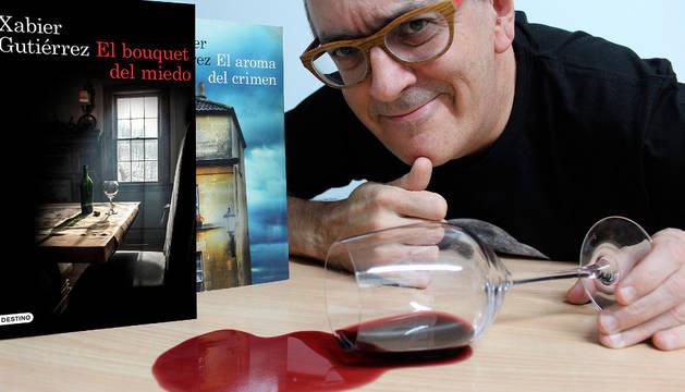 Xabier Gutiérrez: La gastronomía da para mucha novela negra