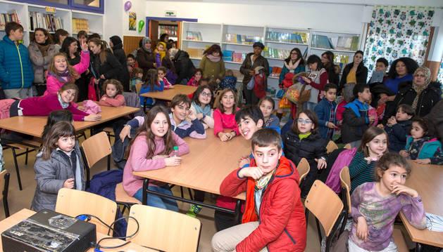 Reapertura de la biblioteca del colegio público San Julián  de Tudela.