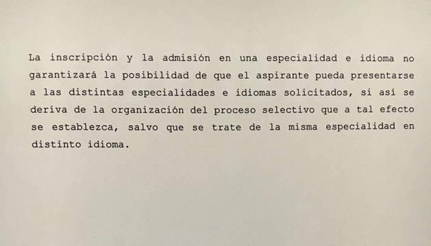 El Gobierno añade ahora a la OPE 2 fechas para euskera y castellano