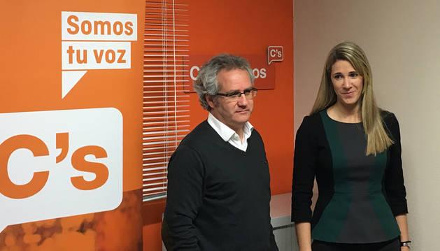 Ciudadanos Navarra inaugura su nueva sede en Pamplona
