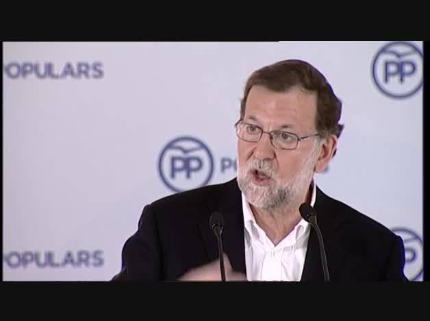 Rajoy no apoyará a Sánchez