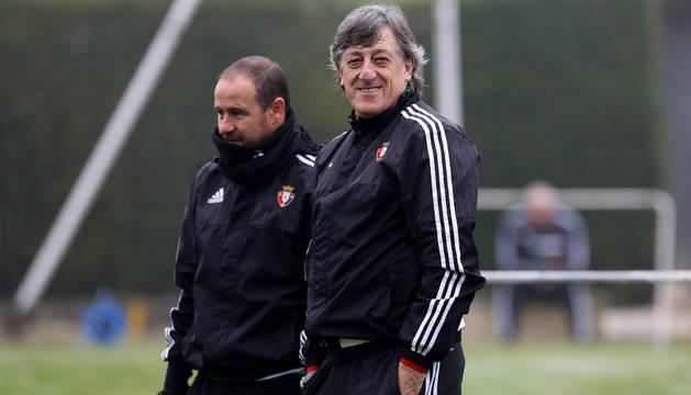 Enrique Martín Monreal y Alfredo Sánchez.