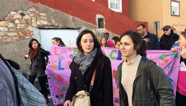 La diputada Ione Belarra participa en Ceuta en la III Marcha por la Dignidad