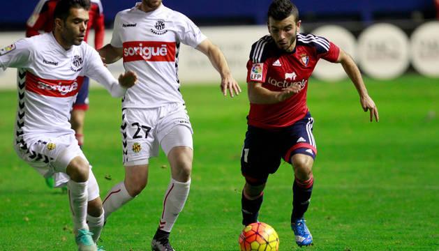 José García, en un partido anterior.