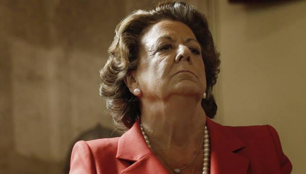 Imagen de archivo de la exalcaldesa de Valencia, Rita Barberá.