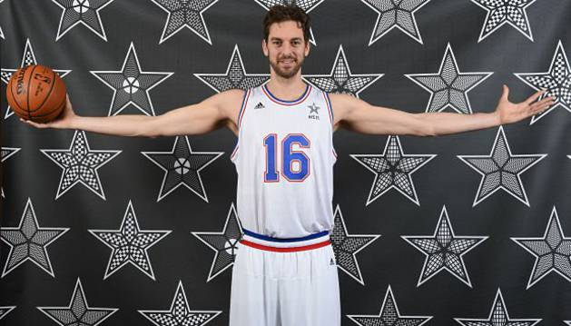 Pau Gasol estará en el All-Star.