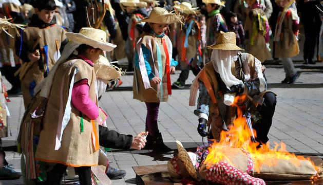Falces vuelve a las tradiciones con su carnaval