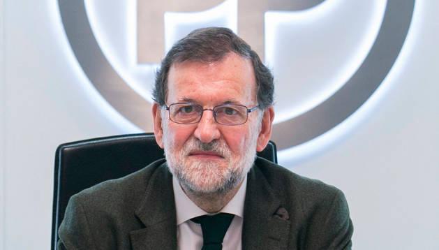Mariano Rajoy, durante la reunión del Comité de Dirección celebrada en Madrid.