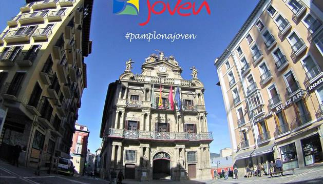 Primera imagen de Pamplona Joven en Instagram.