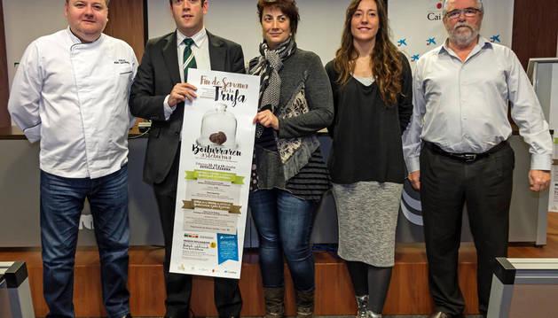 Desde la izquierda, Jorge Ruiz, Pablo Andoño, Mariví Sevilla, Marta Astiz y Laureano Martínez.