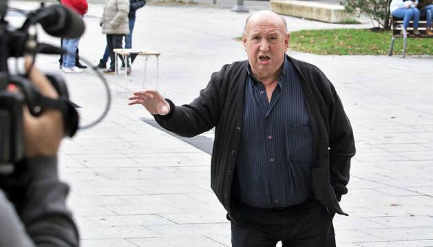 José Antonio Indart, cuando acudió en octubre a declarar como imputado por la muerte de su hijo.