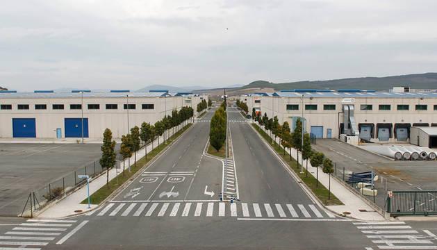 Ciudad del Transporte de Imárcoain.
