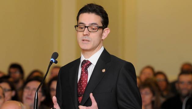 El médico forense, Ignacio Alija, durante su declaración en el juicio por el crimen de Isabel Carrasco.