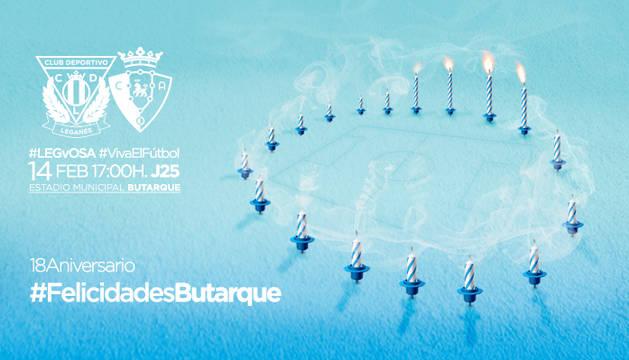 Cartel promocional del Leganés.