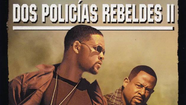Cartel de 'Dos policías rebeldes II'.