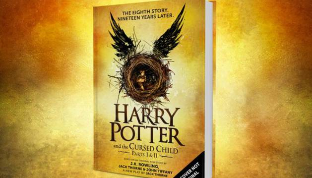 Portada de 'Harry Potter and The Cursed Child'.