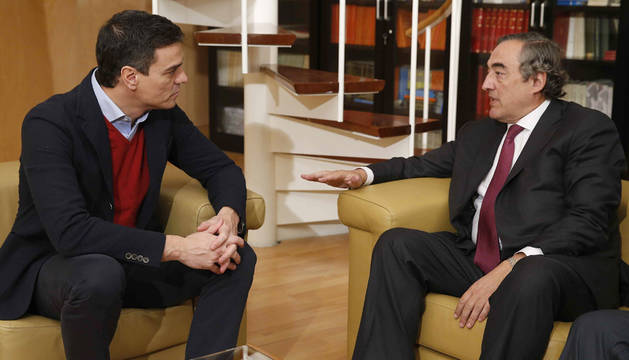 El presidente de la CEOE no teme un Gobierno entre PSOE y Podemos