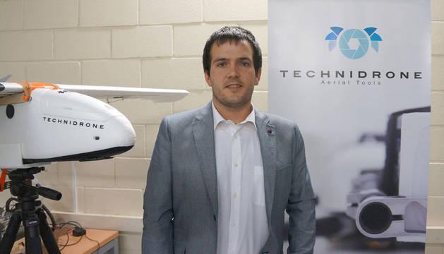 Alain Zabalegui, responsable del Área Técnica de Technidrone.