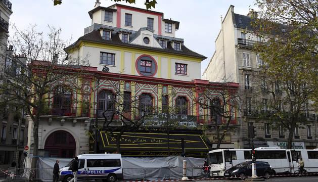 La sala Bataclan podría acoger eventos antes de que termine 2016