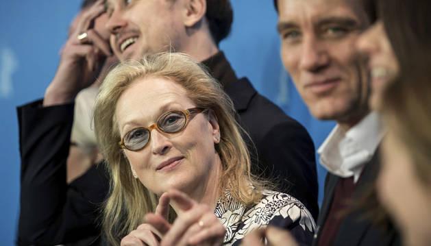 La actriz estadounidense Meryl Streep, presidenta del jurado de la 66 edición de la Berlinale.