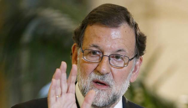 Rajoy reconoce que España incumplirá el déficit de 2015