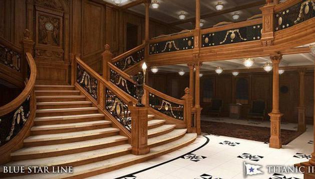 El 'Titanic II' zarpará en 2018