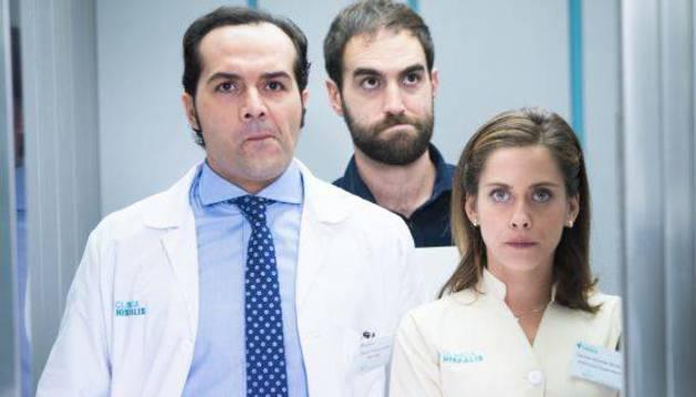 Escena de la primera temporada de 'Allí abajo'.