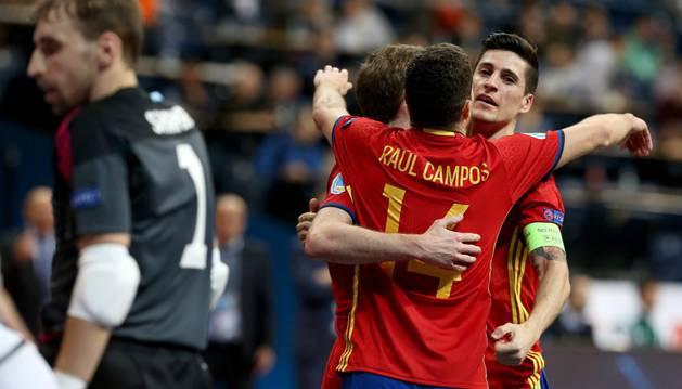 España se mide a Rusia en la final.