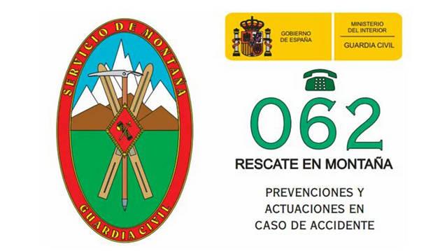 La Guardia Civil aconseja extremar la precaución a senderistas y alpinistas