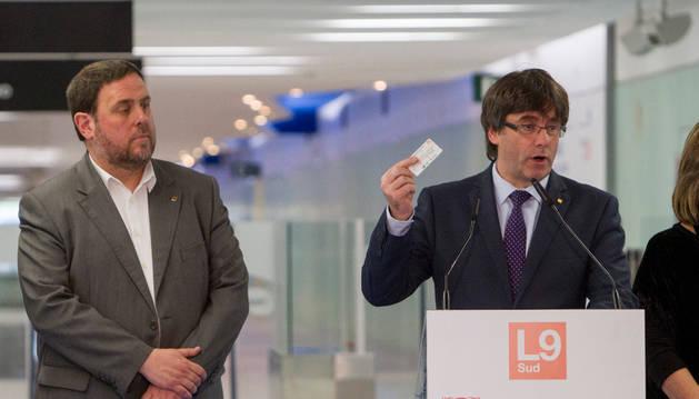 Puigdemont acusa al Estado de