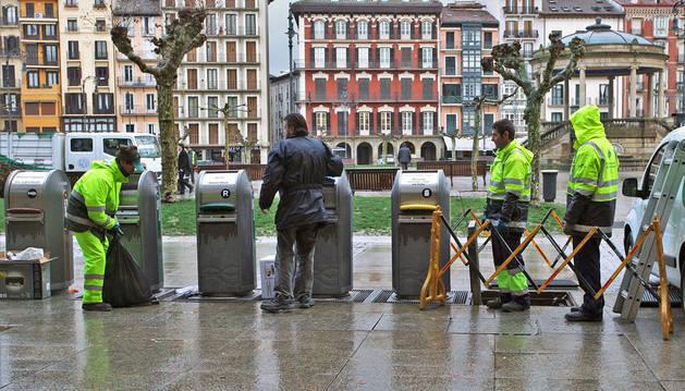 La recogida neumática cumple 5 años con 7.780 kilos de basura al día