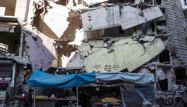 EE UU y Rusia anuncian un plan de alto el fuego y ayuda para Siria