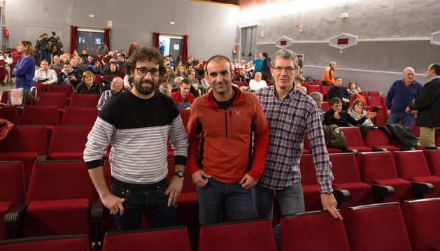 El grupo Muskaria abre su VIII Ciclo de Cine de Montaña