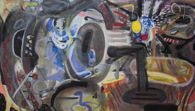 Una de las obras de Carlos Cánovas.