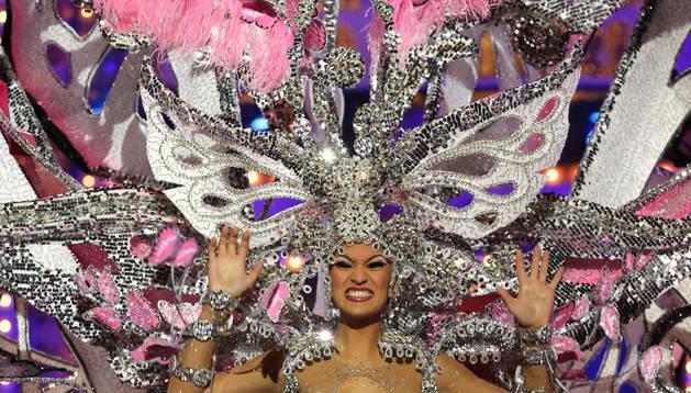 Paula Miranda, Reina del Carnaval de Las Palmas