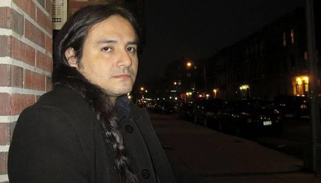 El escritor peruano Richard Parra.