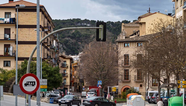 Dos calles de sentido único redirigirán el tráfico de San Miguel en Estella