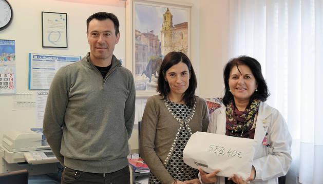 La Milagrosa de Lodosa se une a la investigación contra el cáncer